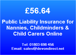 We Specialise in Insurance for Nannies, Childminders, Child Carers & Babysitters